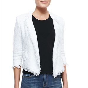 Milly Tweed Cropped Blazer, Size 4
